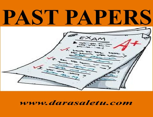 Photo of MATHEMATICS: PAST PAPERS  AVAIABLE AT DARASALETU MAKTABA. (O-LEVEL AND A-LEVEL)
