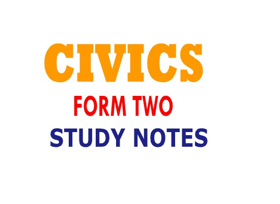 Photo of CIVICS FORM TWO TOPIC 4: GENDER