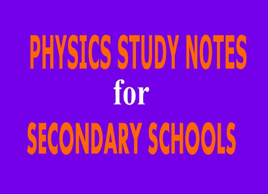 Photo of PHYSICS STUDY NOTES THAT COVER ALL TOPICS FOR STUDENTS AND TEACHERS.