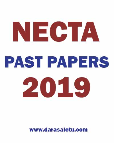 Photo of NECTA-PAST PAPERS OF CERTIFICATE OF SECONDARY EDUCATION EXAMINATION (CSEE) 2019.